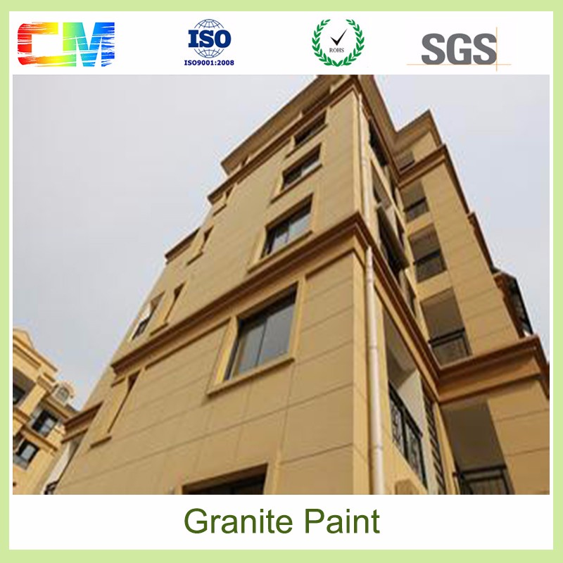 Exterior and interior wall coating /liquid granite spray stone texture paint designs