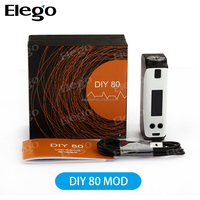 New products 2016 vaporizer Vision DIY 80 TC MOD W/O Battery,Vision DIY 80 Mod Elego Supply