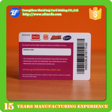 Competitive price MIFARE(R) Classic 1k smart card with EAN39 barcode