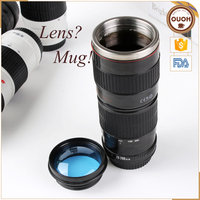 caniam 70-200mm camera lens coffee tea mug with glass cover