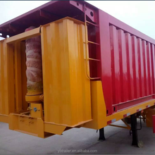 high quality bumper hydraulic dump trailer