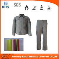 YSETEX EN20471 High visibility anti fire protective pants and bib pants for welders
