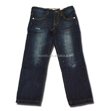 washed new design jeans good quality kids boys jeans