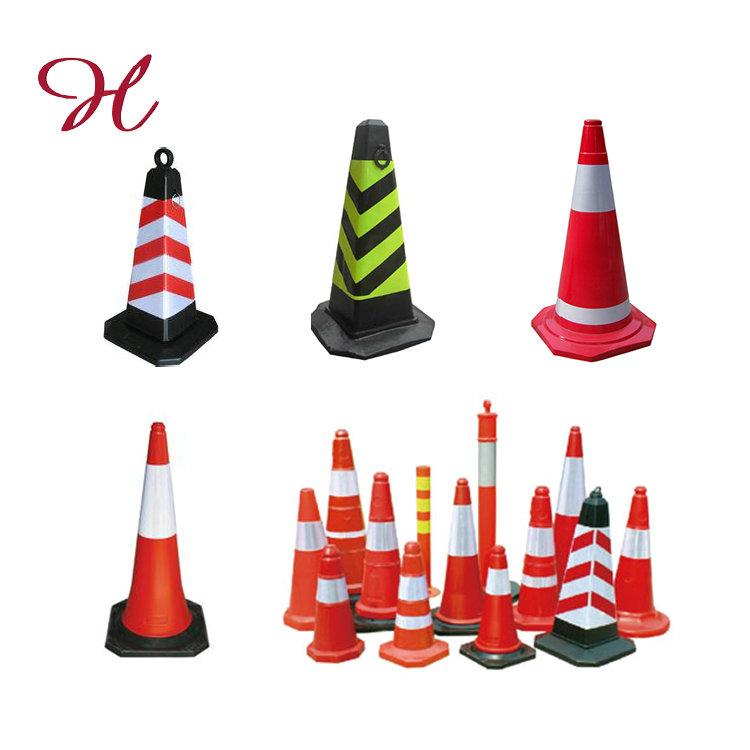 Hot Selling Cheapest Custom Inflatable Led Light Rubber Pvc Traffic Cone