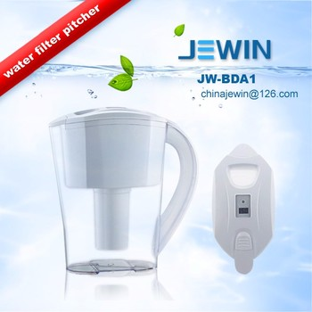 Home use with digital timer water purifier pitcher