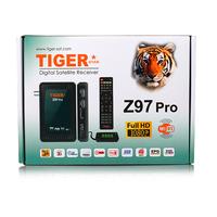 Tiger Z97Pro Full HD 1080P Mini SatelliteTV Receiver FTA Satellite Decoder Support IP TV