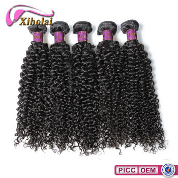 XBL hair factory price 100 authentic virgin Brazilian remy hair curly