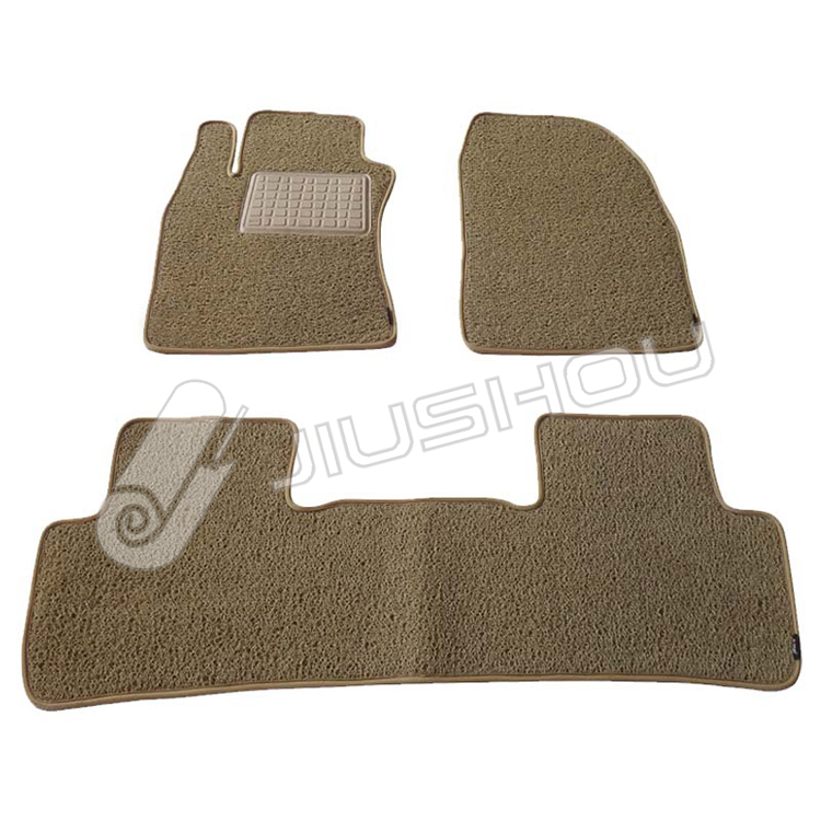 5d pvc coil trunk car dash mat