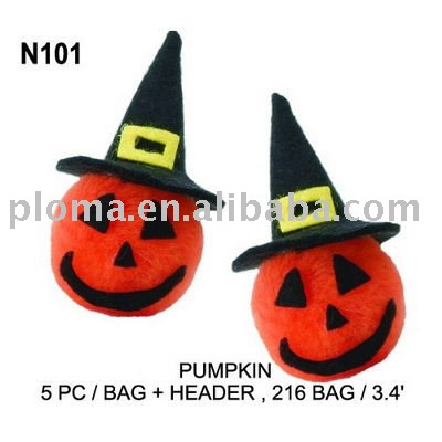 FOR CRAFT-PUMPKIN(N101) Pom Poms DIY KIT