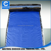 1.5mm self adhesive cold applied bitumen emulsion waterproofing membrane