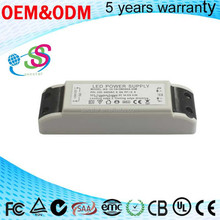36-45W Triac dimming led driver power supply with constant current limiting switching power dimmable