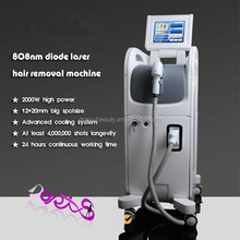 Women underarm hair removal machine 808nm medical laser hair removal