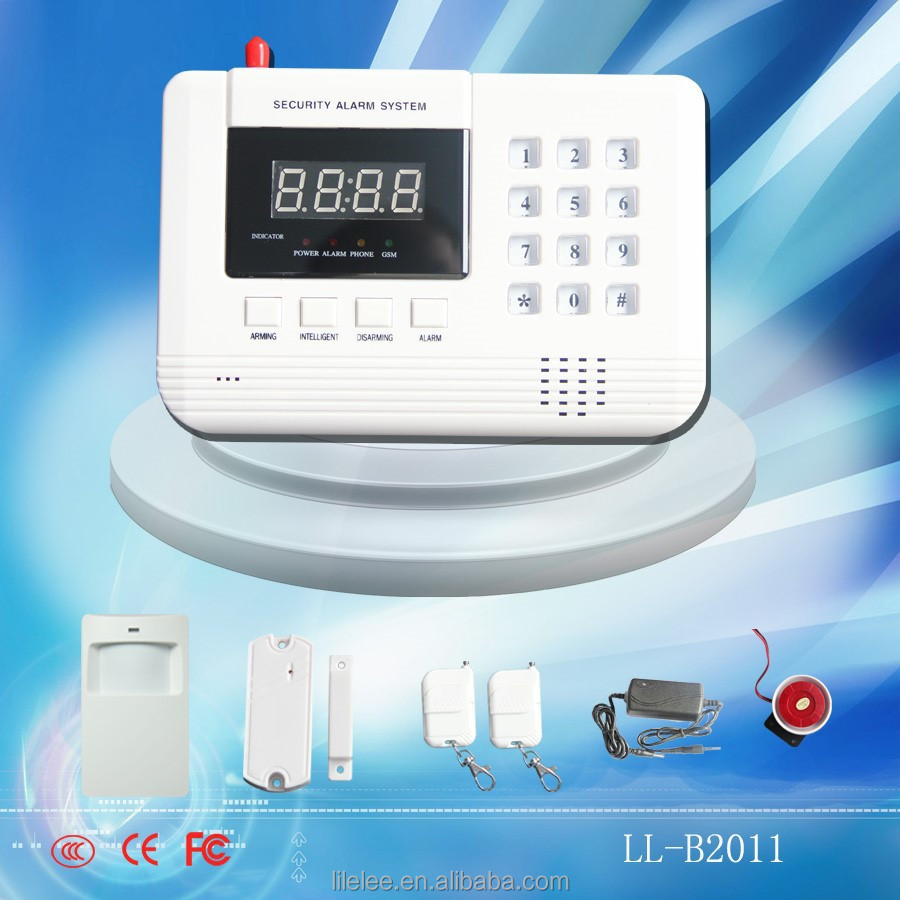 2016 new arrival home burglar alarm system gsm pstn dual for New home products 2016