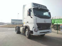 China fuel-saving model fast sale 6tires howo A7 series 4x2tractor truck with single sleeper for sale