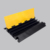 factory price 3 channel Plastic yellow cover Rubber Cable Ramp