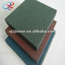 Colored Durable Rubber Flooring