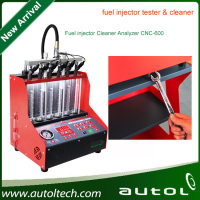 Fuel Injector Cleaning Machine CNC 600 full system car injector cleaner and tester CNC600