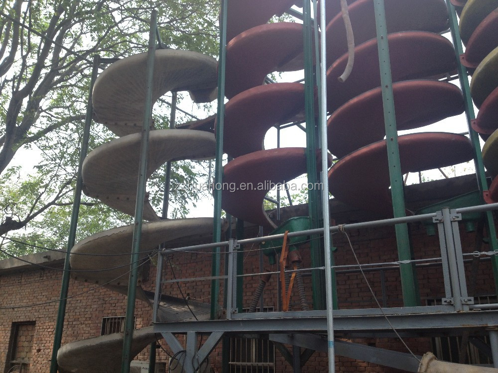 Huahong Lowest Separating Machine Mineral Ore Spiral Chute with best mechanical property
