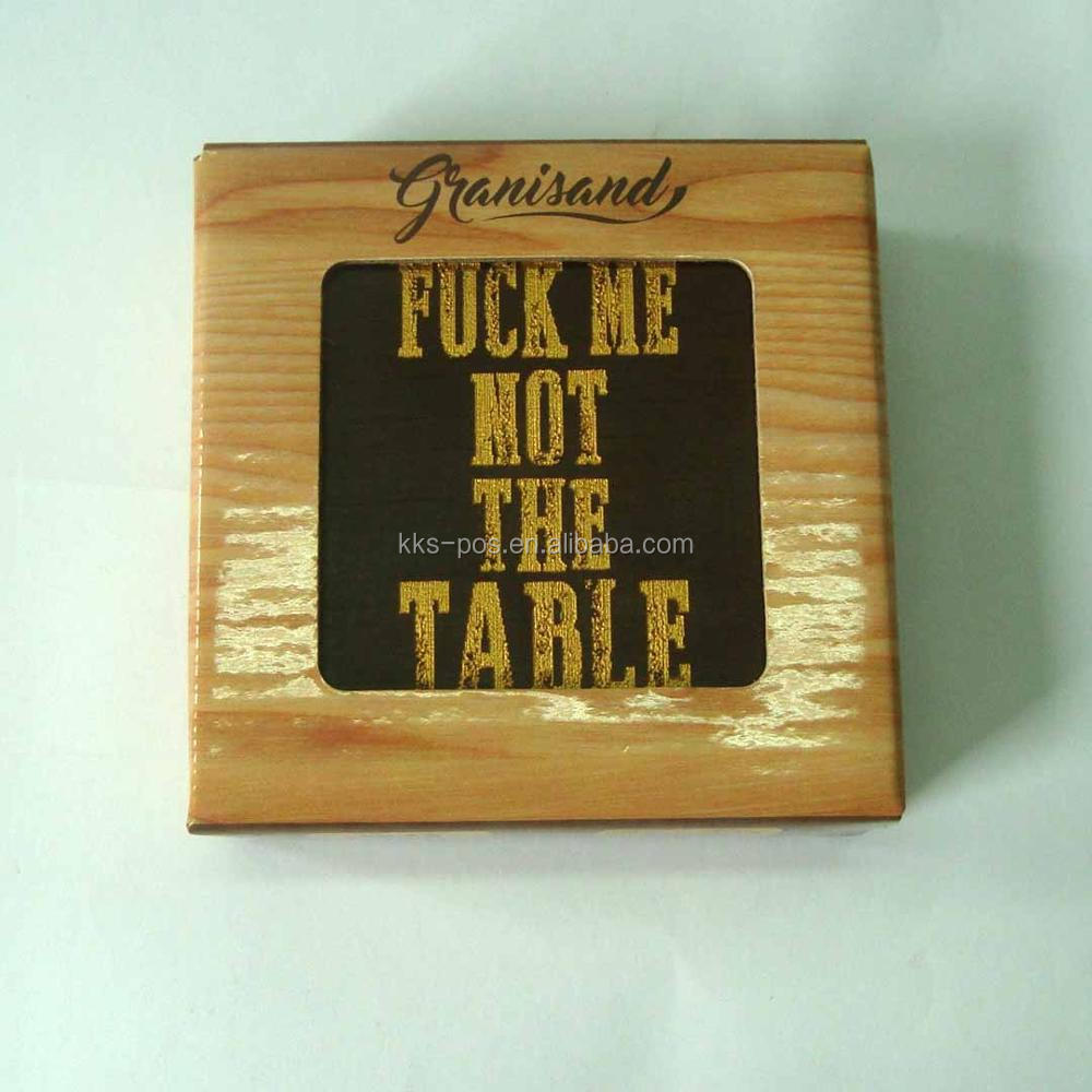 wholesale wooden coasters for sale, wooden coaster gift set