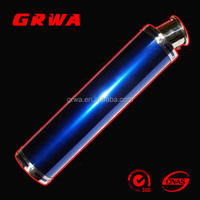150cc motorcycle muffler with different colors