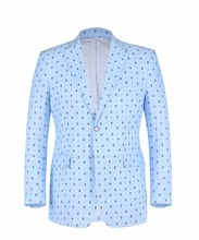 Fashionable Designer Printed Suits Two Button Printed Floral Blazers Mens