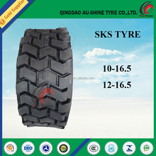 cheap price Backhoe loader tyre 10x16.5 12x16.5 for sale
