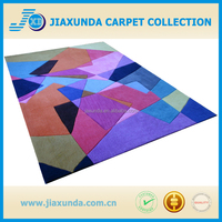 Modern-Design multi color Carved Cut-Pile Acrylic Wool Hand Tufted Carpet