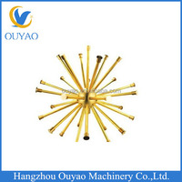 Brass Water Fountain Crystal Ball Nozzle Dandelion Sprinkler