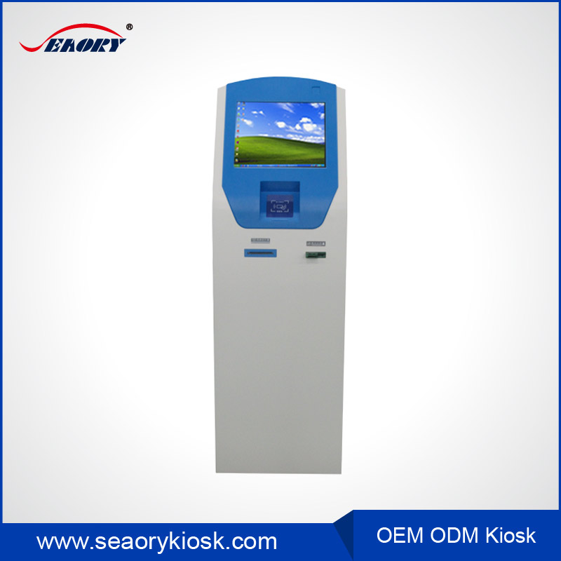 Free standing touch screen Multi Media Information Interactive Self-Service Kiosk