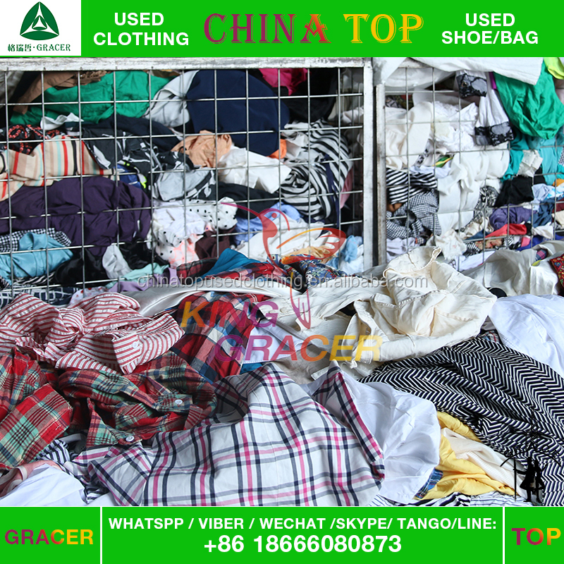 canada style recycling clean mixed used clothing price according to pounds