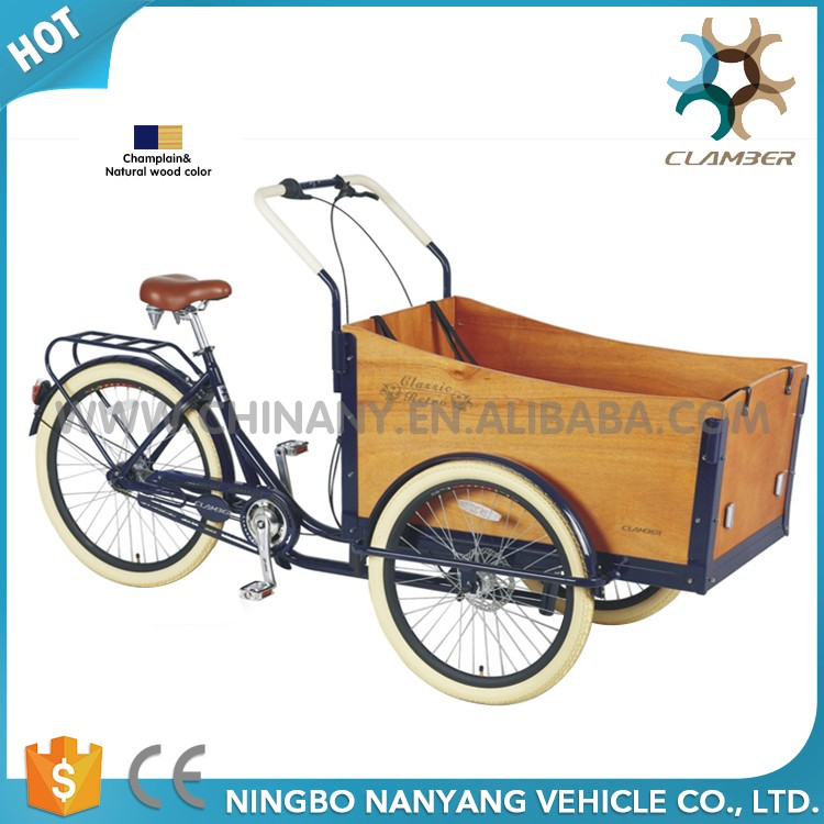 Customized Made Cargo Tricycle Bicycles