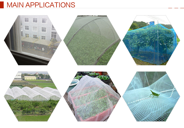 100% Originele HDPE Mesh Plant Covers Met UV Additieven
