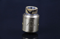 Newest design TFV8 rda cigar mouthpiece 510 vaping stabilized wood drip tip lowest price