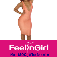 Wholesale One-shoulder Bodycon Adult Lady Girls Party Dress
