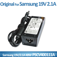 100% Original Genuine laptop power adapter for Samsung 40W Charger PSCV400111A AD-4019A KC number: SU10543-13009