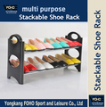 2 Tiers Shoe storage shelves can hold both 6 pairs and 10 pairs in two sizes(FH-SR0062)