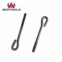 Masonry and Foundation Bolt Black Coated/Galvanized Carbon Steel DIN 529 M8 M10