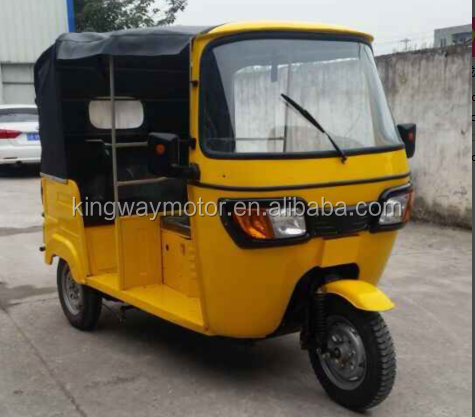 Chongqing Factroy 3 passenger TVS KING Taxi Bajaj Three Wheeler Price On Sale