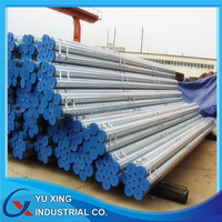 Pipe manufacturer!!! Tubo galvanizado supply api 5l gr b carbon steel welded pipe galvanized pipe