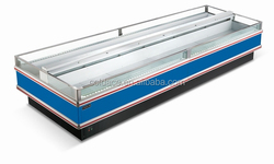 High quality display freezer for fruits vegetable and meat