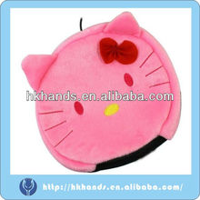 pink Hand Warmer USB Heated Mouse Pad