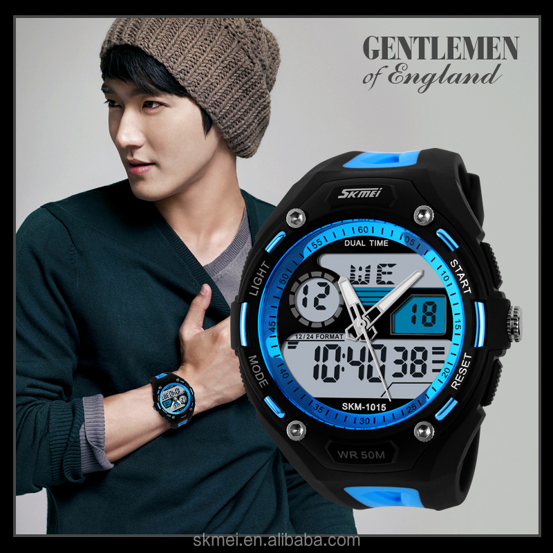 Alibaba wesbite waterproof feature watches sports watches men