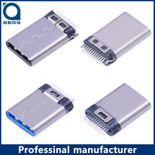 USB Type C 3.1 long type 1.21mm Male Connector USB