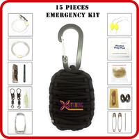 camping outdoor survival items backpack list