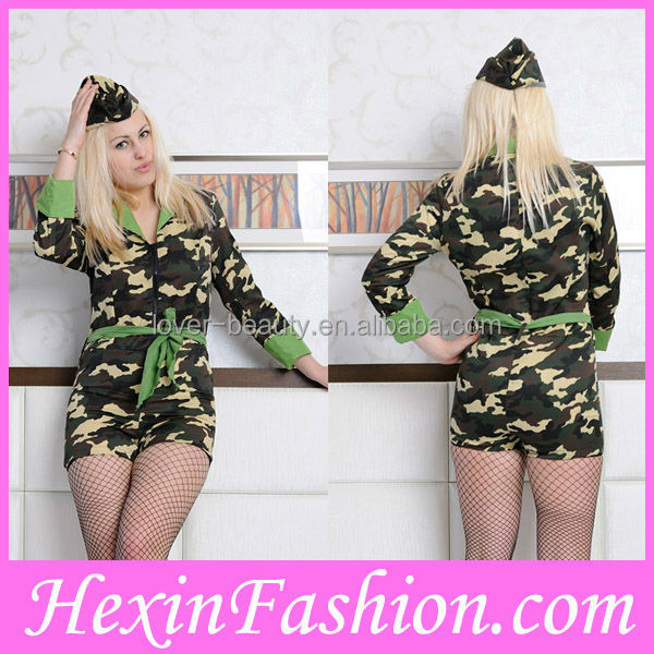 Wholesale Sexy Army Costumes For Women