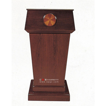 High quality cheap church pulpit designs church podium wooden lectern to church