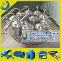 China Supplier Amalgam Distillation Equipment Mercury Steamer Widely Used on Gold Grinding Machine and Wet Pan Mill