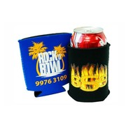 Stylish neoprene beer stubby holder and 330ml FOLDABLE CAN COOLER