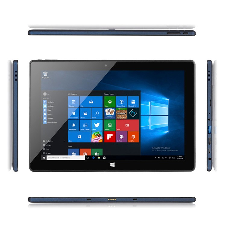 Best Quality 10.1inch Z8350 Windows 10 Tablet PC Tablet Win 10 2GB+32GB With Keyboard