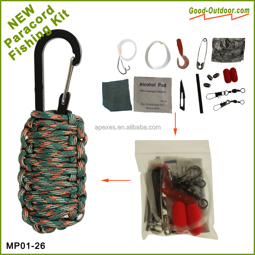 New emergency military survival kit used for survival
